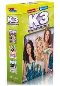 Cover K3 - Muziekspecials - Box [DVD]